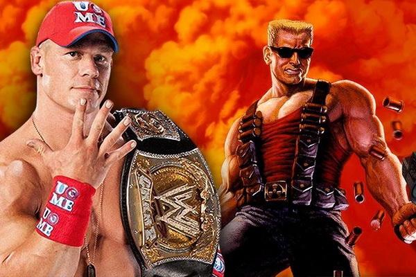 John Cena co the hoa than thanh nguoi hung Duke Nukem hinh anh