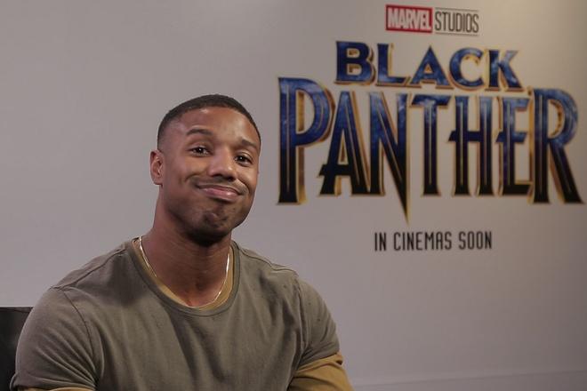 Dan sao bom tan 'Black Panther' gui loi chuc Tet khan gia Viet Nam hinh anh