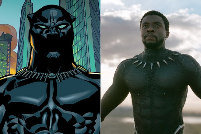 Dan nhan vat bom tan 'Black Panther': Tu truyen tranh den man anh hinh anh