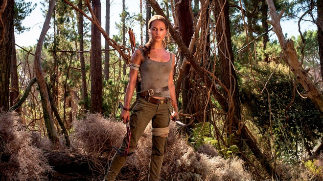 Trailer bo phim 'Tomb Raider: Huyen thoai bat dau' hinh anh
