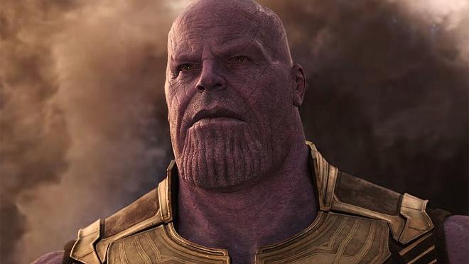 """Đến Siêu Sao The Rock Cũng Phải """"E Ngại"""" Siêu Ác Nhân Thanos Của Infinity  War. Ảnh: Disney."""
