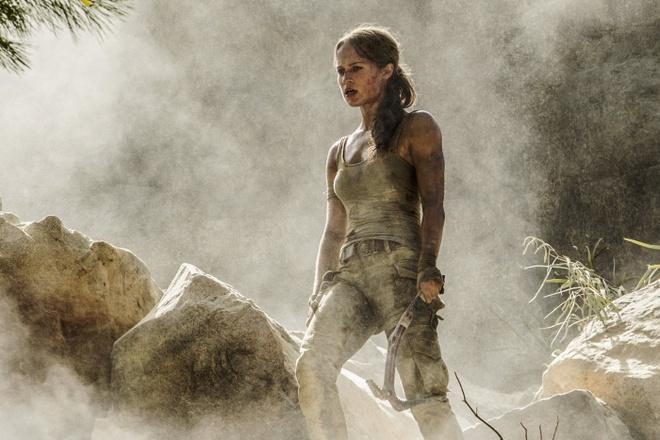 'Tomb Raider' khong the truat ngoi 'Black Panther' tai phong ve hinh anh 1