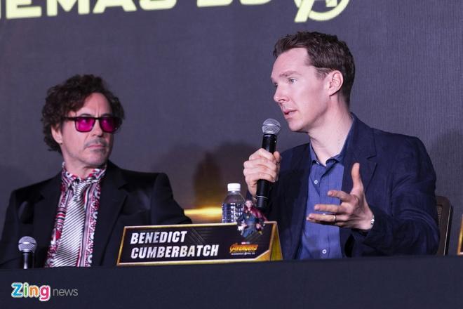 Iron Man, Doctor Strange giao luu voi hon 100 phong vien Dong Nam A hinh anh