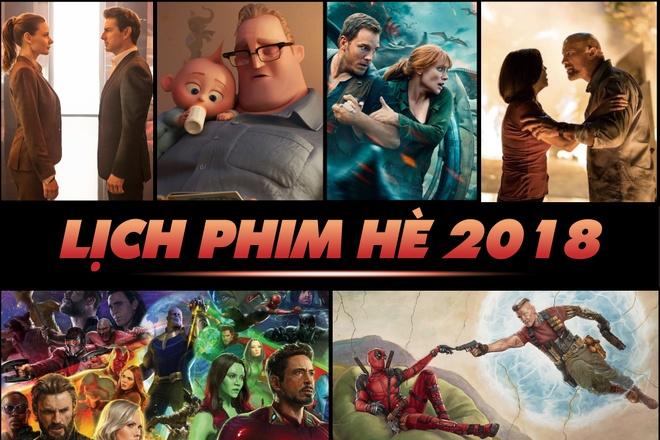 Lich 'Avengers' va cac phim bom tan chieu rap mua he 2018 hinh anh