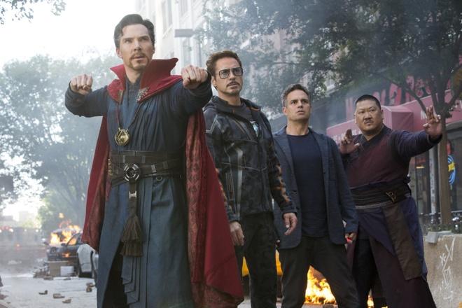 Khong can Trung Quoc, 'Avengers: Infinity War' da thu 630 trieu USD hinh anh