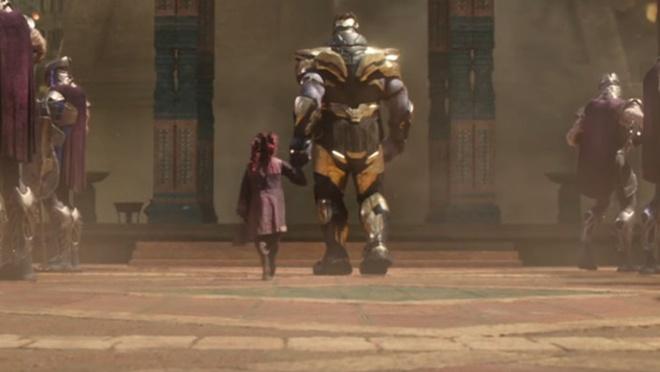 Con gai nuoi cua Thanos co bo mang sau 'Avengers: Infinity War'? hinh anh 1