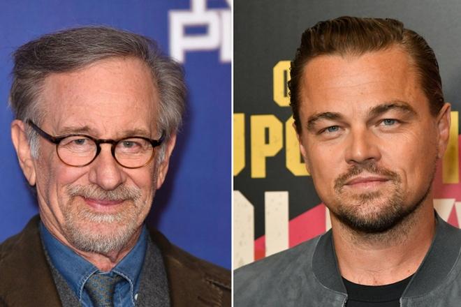 Leonardo DiCaprio co the sap tai ngo dao dien Steven Spielberg hinh anh