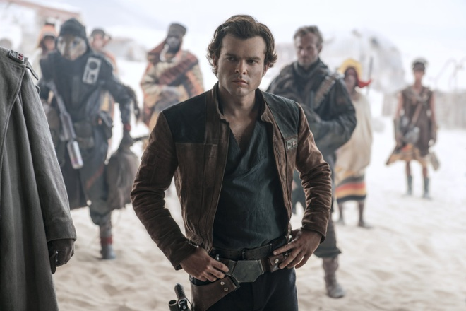 'Solo: Star Wars ngoai truyen' vat va kiem tien tai phong ve hinh anh