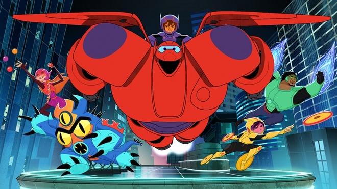 Baymax va nhom Big Hero 6 tro lai tren song truyen hinh hinh anh 1