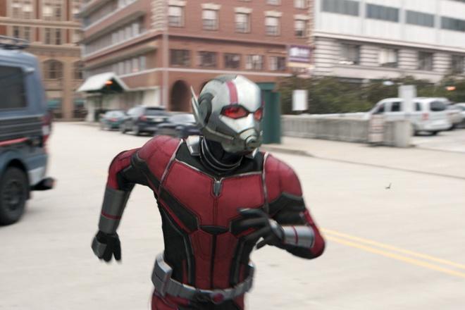 'Nguoi Kien & Chien binh Ong' cua Marvel thu hon 160 trieu sau ba ngay hinh anh