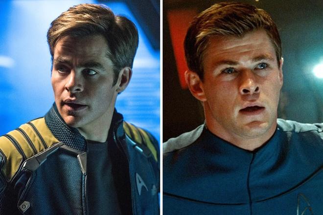 Chris Pine, Chris Hemsworth cung rut lui khoi 'Star Trek' hinh anh