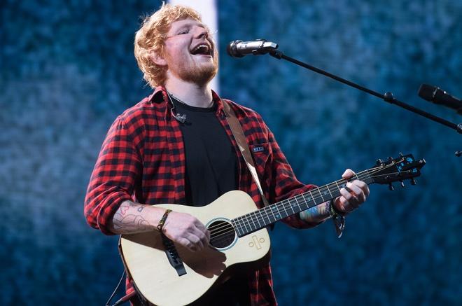 Ed Sheeran hoan thanh vai dien dien anh dich thuc dau tien hinh anh