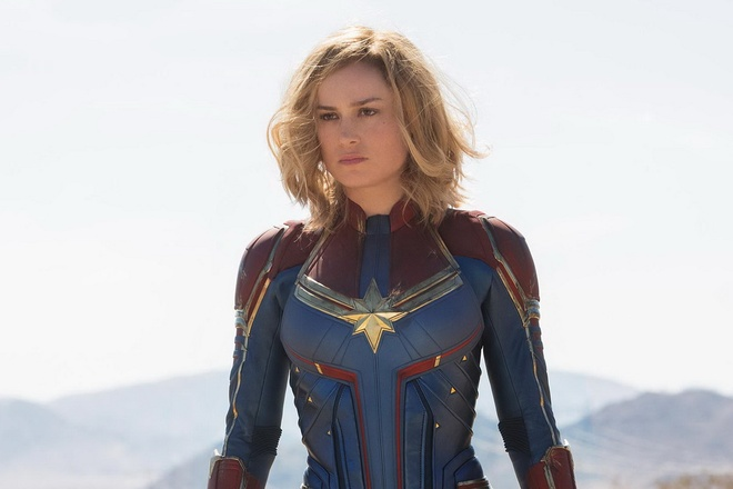 Sieu anh hung Captain Marvel chinh thuc lo dien hinh anh