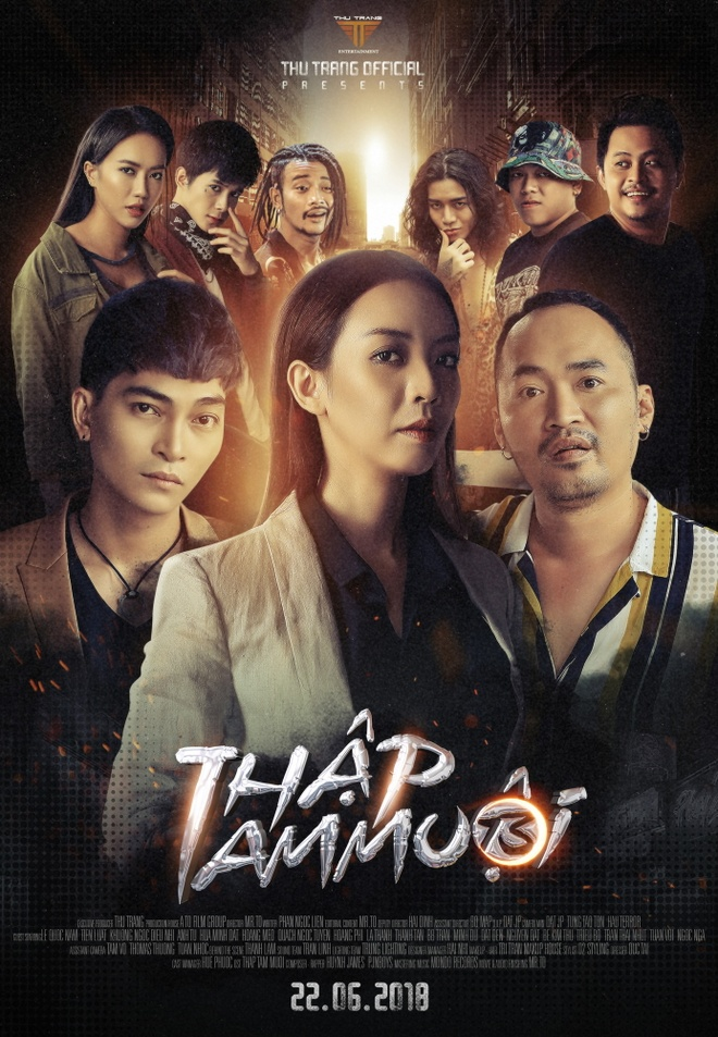 Thu Trang, Tien Luat lam hau truyen 'Thap Tam Muoi' chieu rap hinh anh 1