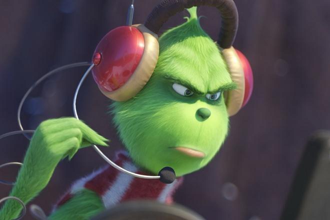 Phim hoat hinh 'The Grinch' dan dau phong ve Bac My hinh anh