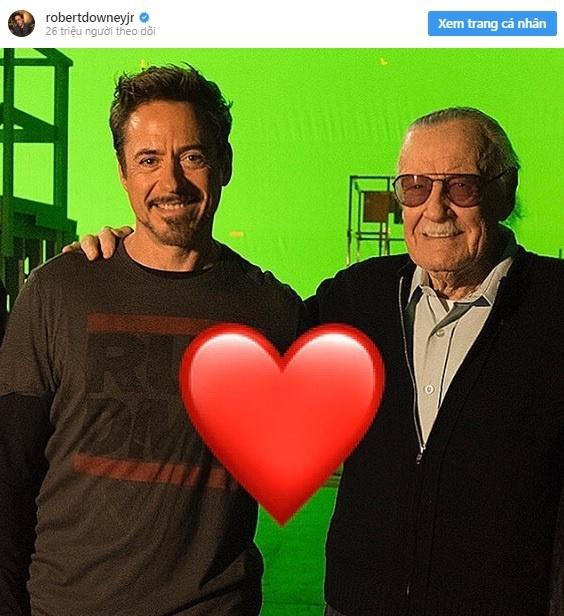 Dan sao Marvel dong loat tuong nho va tri an Stan Lee hinh anh 4