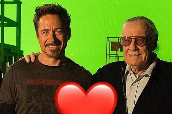 Dan sao Marvel dong loat tuong nho va tri an Stan Lee hinh anh