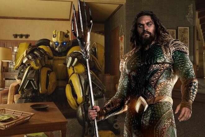 'Aquaman' va 'Bumblebee' cung chieu som de cheo keo khan gia hinh anh
