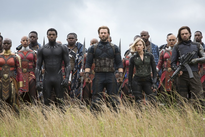 'Avengers' va cac sieu anh hung giup nang tam Hollywood trong nam 2018 hinh anh