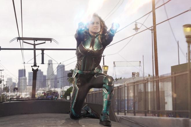 'Captain Marvel' oanh tac phong ve voi 455 trieu USD sau ba ngay hinh anh 1