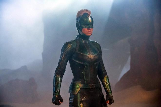 Bom tan 'Captain Marvel' tiep tuc can quet phong ve toan cau hinh anh 1