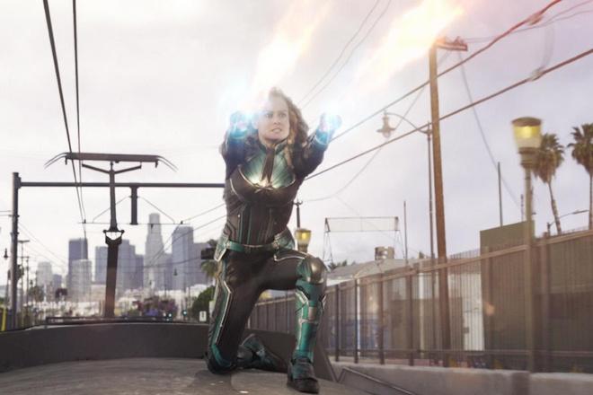 Bom tan 'Captain Marvel' chinh thuc can moc doanh thu 1 ty USD hinh anh 1