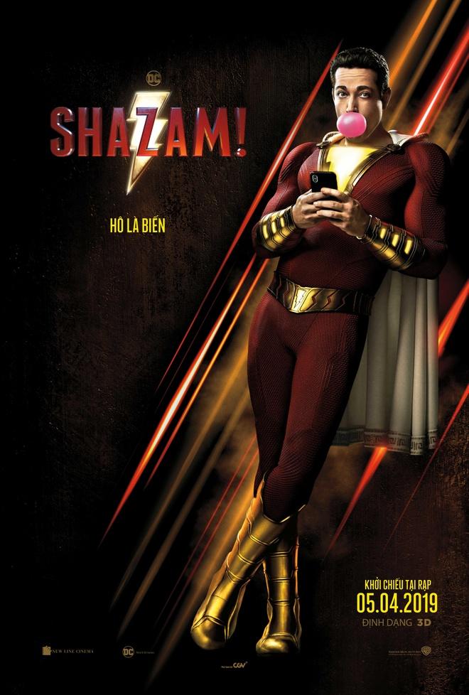 'Shazam!' - khi sieu anh hung dung suc manh vo doi de mua bia, mua cot hinh anh 1