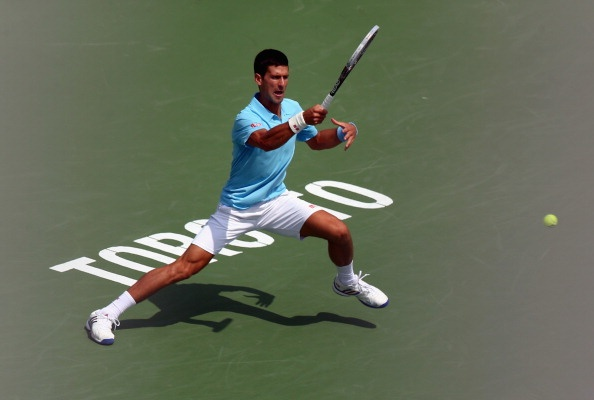 Djokovic suyt thua soc tai vong 2 Rogers Cup hinh anh