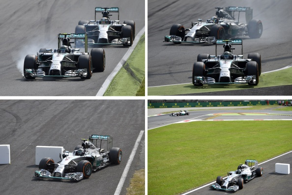 Rosberg truot khoi duong dua, Hamilton dac loi hinh anh