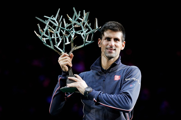 Djokovic bao ve thanh cong ngoi vuong Paris Masters hinh anh