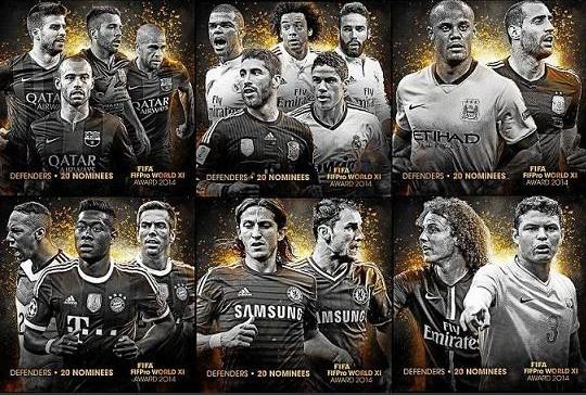 FIFA cong bo 20 hau ve xuat sac nhat 2014 hinh anh