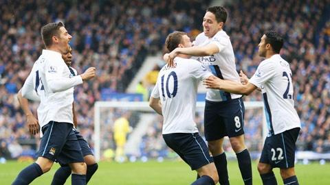 Man City - Everton: Khong the can Man xanh hinh anh