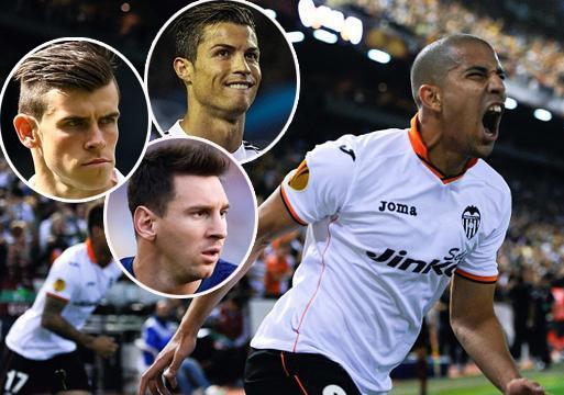 Ronaldo, Messi va Bale 'hit khoi' ngoi sao Valencia hinh anh