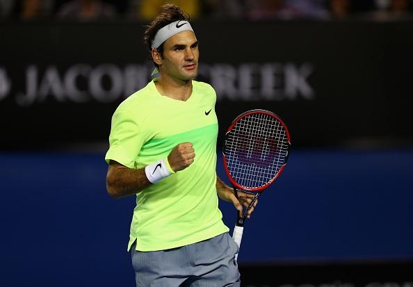 Federer khoi dau an tuong tai Australian Open hinh anh