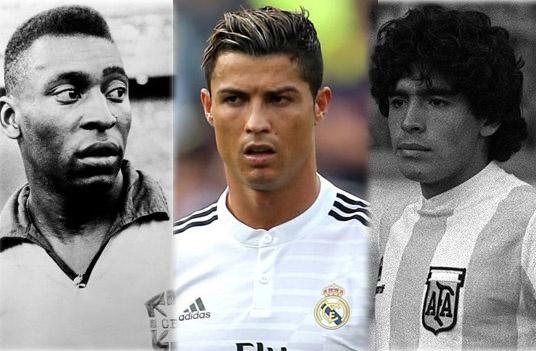 'Ronaldo da dat den dang cap cua Pele, Maradona' hinh anh 1