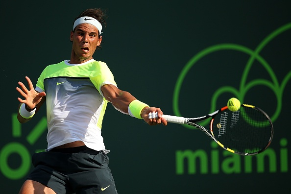 Vong 2 Miami Masters 2015: Nadal 2-0 Almagro hinh anh