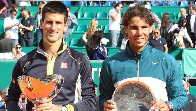 Djokovic dai chien Nadal tai ban ket Monte Carlo Masters hinh anh