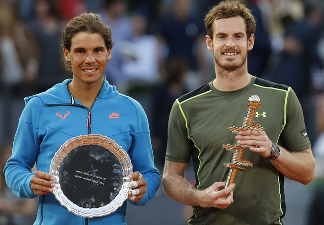 Thang thuyet phuc Nadal, Murray dang quang Madrid Open hinh anh
