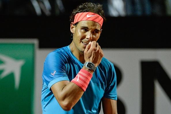 Nadal guc nga o tu ket Rome Masters hinh anh 1
