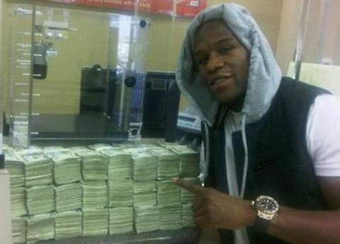 Mayweather thang cuoc gan 1 trieu USD hinh anh