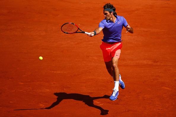 Vong 1 Roland Garros 2015: Federer 3-0 Falla hinh anh