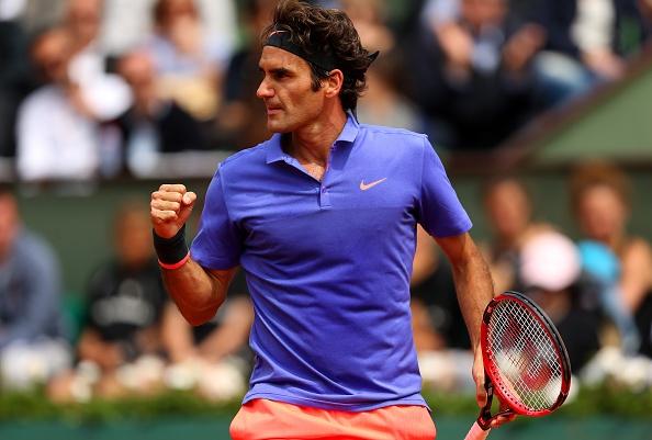 Federer toc hanh vao vong 4 Roland Garros hinh anh