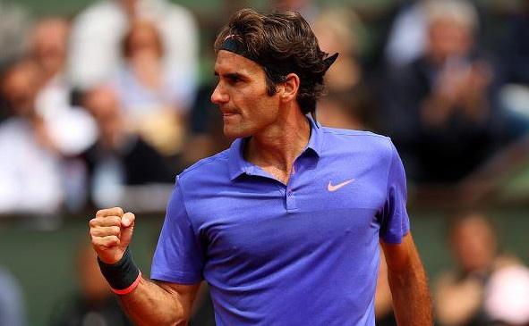 Federer tai ngo Wawrinka tai tu ket, Sharapova bi loai hinh anh
