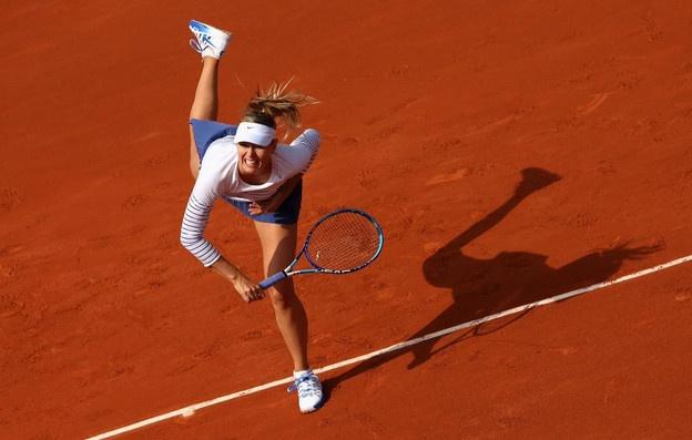 Vong 4 Roland Garros 2015: Sharapova 0-2 Safarova hinh anh