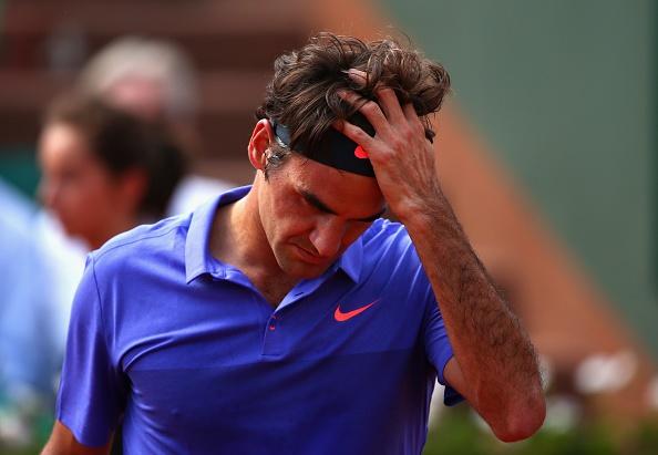 Federer guc nga truoc dong huong Wawrinka tai tu ket hinh anh