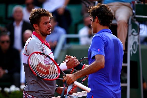 Federer guc nga truoc dong huong Wawrinka tai tu ket hinh anh 2