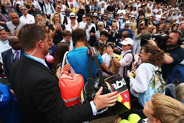 Mourinho khong vui khi chung kien Nadal bai tran hinh anh 11