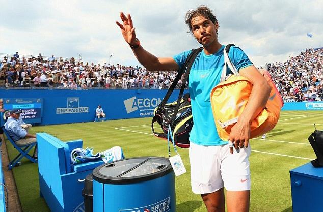 Mourinho khong vui khi chung kien Nadal bai tran hinh anh 10