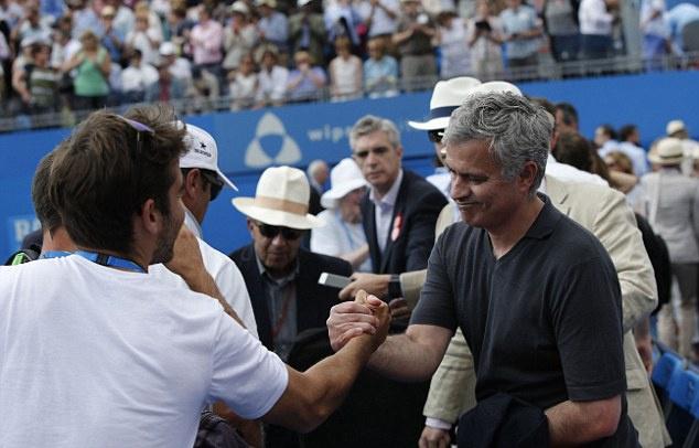 Mourinho khong vui khi chung kien Nadal bai tran hinh anh 5