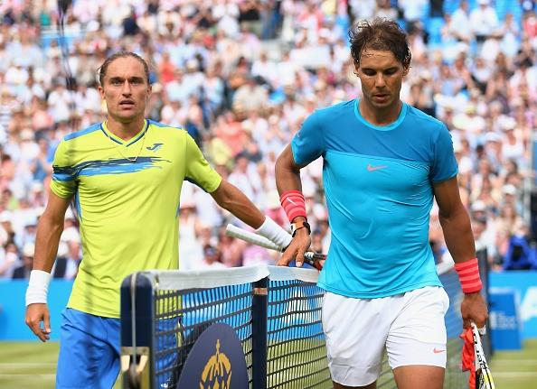 Mourinho khong vui khi chung kien Nadal bai tran hinh anh 9